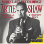 Artie Shaw: More Last Recordings The Final Sessions -  Raro Original