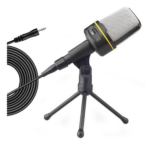 Micrófono Condensador Profesional De Escritorio Con Trípode