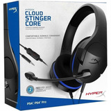 Auricular Gamer Ps4 Kingston Hyperx Cloud Stinger Tranza