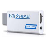 Conversor De Wii A Hdmi, Adaptador Zeato Wii A Hdmi, Wii