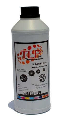 Tinta De Sublimación 1/2 L Marca Tlp Premium Sublimar X Colo