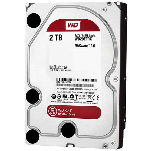 Disco Rigido 2tb Red Nas Wd Western Digital Raid 64mb Mexx