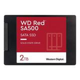 Disco Rigido Wd Ssd 2tb Red Sata Sa500