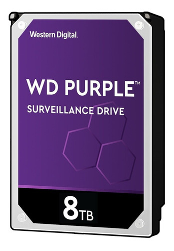 Disco Duro Interno Western Digital Wd Purple Wd81purx 8tb