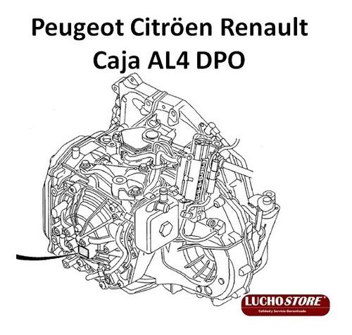 Peugeot Citroen Renault Caja Automática Al4 Dpo Transmision