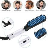 Cepillo Portátil Para Barba Para Prevenir El Pelo Liso Blanc