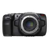 Câmera De Vídeo Profissional Blackmagic Design Pocket Cinema 6k 6k Ntsc/pal Preta