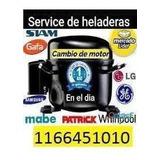 Reparación Heladeras Domicilio Carga Gas Gba Y Caba Técnico