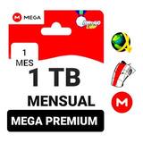Mega Premium 1 Tb 1024 Gb 30 Días Envió Inmediato