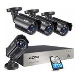 Usb Llave Safe Sistema De Cámara De Seguridad Zosi 1080p Co