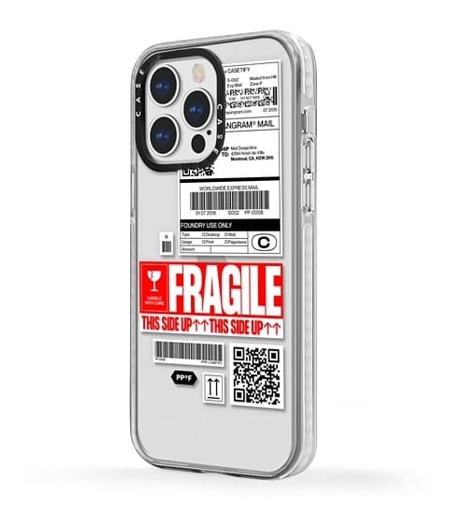 FUNDA TICKET FRAGILE IPHONE 13 PRO MAX