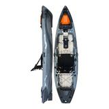 Kayak Hidro2eko Mako 110 Pro Gris Y Negro - Kayaks Feelfree