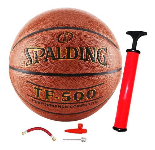 Pelota Spalding Basketball Tf500 N6 / N7 + Regalos! - El Rey