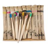 Cepillo De Dientes Dental Bambú Ecológico  Empaque Kraft
