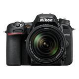 Nikon D7500 18-55mm Vr + 70-300mm Vr Kit Dslr Color  Negro