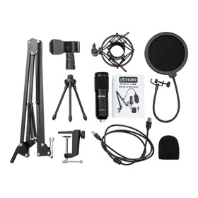 Microfone Vedo Bm800 Condensador Preto