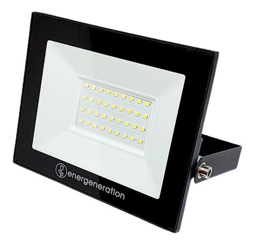 Reflector Proyector Led Exterior Bajo Consumo Ip65 50w Fría