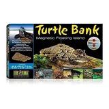 Isla Tortugas Para Acuario Turtle Anfibios Ajustable L Envio