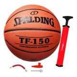 Pelota Spalding Basketball Tf 150 Goma N5 + Regalos - El Rey
