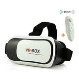 Gafas Realidad Virtual Vr Box 3d Incluye Control Blueetoth