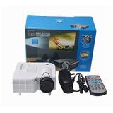 Mini Led Proyector Hd Video Beam Hdmi Sd Vga  Uc30 + Control