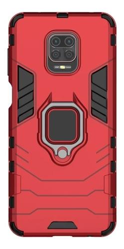 Funda Uso Rudo Anillo Xiaomi Redmi Varios Modelos +mica
