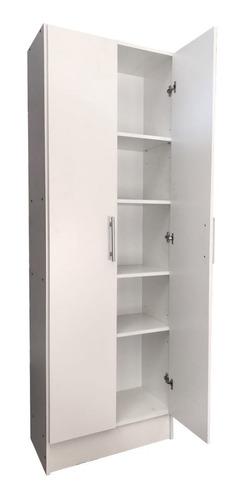 Despensero 2 Puertas Cocina 60x180x30cm Organizador  @