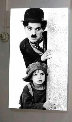 Bonito Cuadro De Chaplin