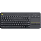 Teclado Logitech K400 Touch Pad Negro  Progamers