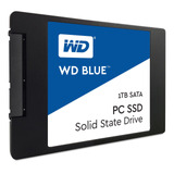 Disco Sólido Interno Western Digital  Wds100t1b0a 1tb Azul