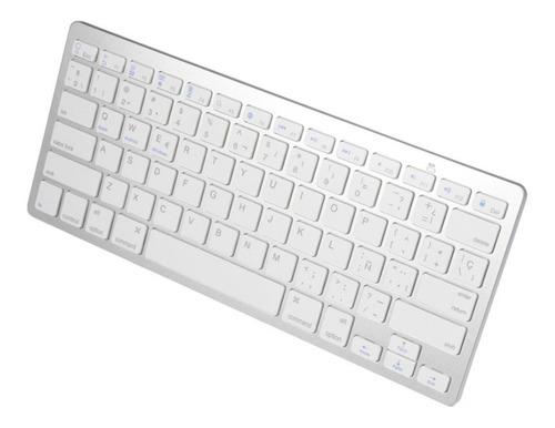 Teclado Bluetooth Ultradelgado En Español Macbook Notebook