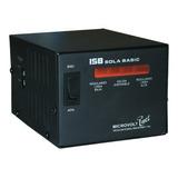 Regulador De Voltaje Sola Basic Microvolt Inet Dn-21-202 2000va Entrada De 127v Y Salida De 120v Negro