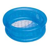 Alberca Inflable Azul Para Bebé 64 Cm X 25 Cm