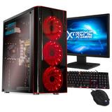 Xtreme Pc Gamer Amd Radeon R7 A10 9830 8gb 1tb Monitor Wifi