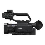 Cámara De Video Profesional Sony Handheld Camcorders Hxr-nx80 4k Ntsc/pal Negra