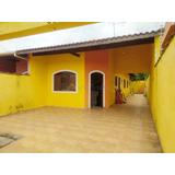 Casa Com 2 Dorms, Suarão, Itanhaém - R$ 215 Mil - V388
