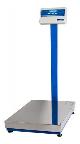 Balanza Industrial Digital Kretz Master 250 Kg Con Mástil 110v/220v Plateado