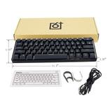 Gk61 Kit Personalizado Con Teclado Intercambiable 60% Rb Ca