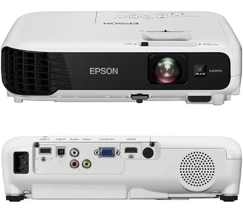 Proyector Epson Powerlite S41 Svga 3300a V11h842021