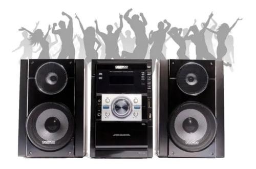 Equipo Música Daewoo Audio Usb Sd Dvd Display Lcd 50w 7106