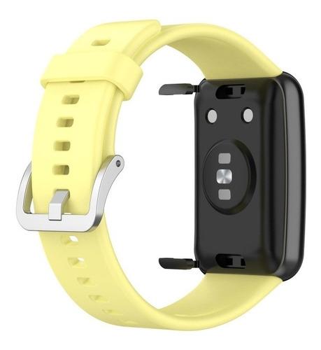Correa Compatible Con Huawei Watch Fit Varios Colores