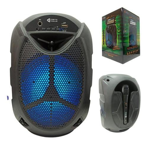 Parlante Portatil Bluetooth 6.5  Tws Microfono Karaoke