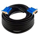 Cable Vga A Vga 20mts 20 Metros Largo Blindado Macho