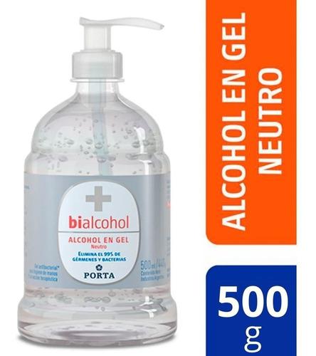 Alcohol Gel Antibacterial Con Dosificador 500ml Bialcohol