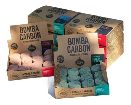 Bomba Carbon Aromatico X 24, Sagrada Madre X 1 Unidad