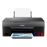 Impressora A Cor Canon Pixma G3160 Com Wifi Preta 110v/220v