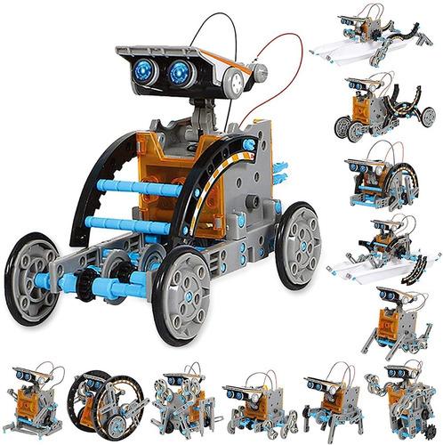 Kit De Construcción Robot 12 En 1
