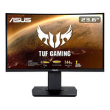Monitor Gamer Curvo Asus Tuf Gaming Vg24vq Led 23.6  Negro 100v/240v