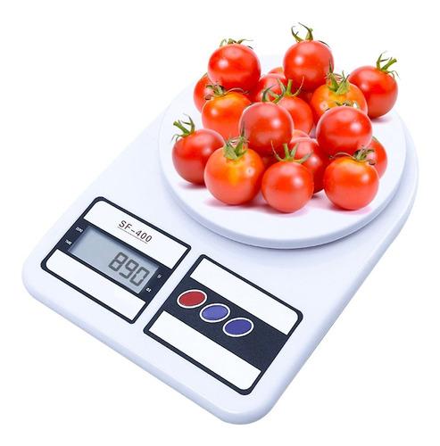 Balanza Alimentos Cocina Digital Hasta 10 Kg Alta Precisión