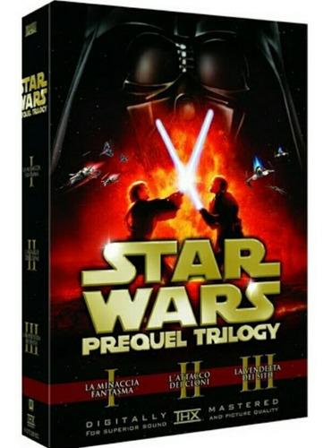Star Wars Trilogía Precuela Dvd Películas Nuevo Ep. 1-3